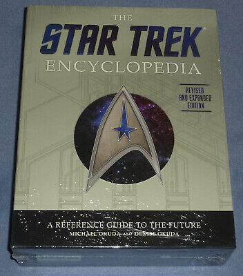 Us Star Trek Encyclopedia Revised And Expanded Edition 2016 Hc Hardcover Sealed
