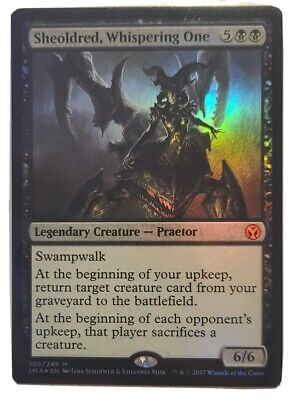 Whispering One FOIL English MTG Prerelease PROMO New Phyrexia NM Sheoldred