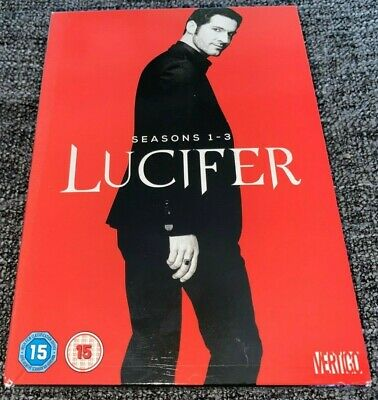 Lucifer DVD Boxset The Complete Seasons 1-3 Series One To Three (2018, 11-Discs)