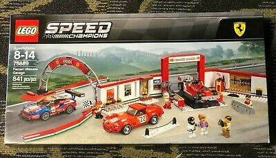 LEGO 75889 FERRARI 312 T4 DECAL SHEET ONLY SPEED CHAMPIONS STICKERS ONLY GARAGE