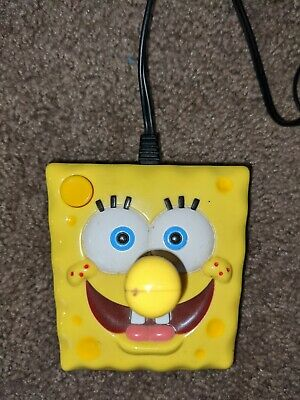SpongeBob SquarePants Plug' N Play TV Game 2003 Jakks Pacific Tested /& Working