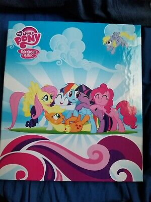 My Little Pony: FIM Enterplay Trading Card Binder W/ Exclusive 6 Card Foil Set