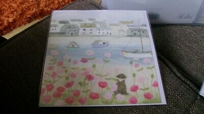 HARBOUR FRONT HANNAH COLE WHISTLEFISH BEACH BOAT NEW BLANK GREETING CARD
