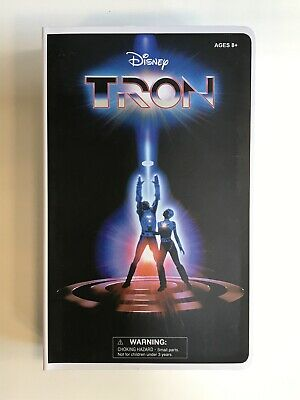 Diamond Select Tron Deluxe VHS Figure SDCC 2020 Exclusive Box Set In Stock Seal