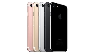 Apple iPhone 7 - 32GB 128GB 256GB - Unlocked SIM Free Smartphone GRADED