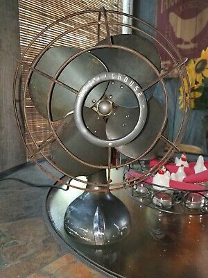 Vintage Westinghouse Fan 1940s, 4 Blade, 10-P-A, Style No 1381357, works