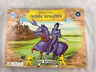 Marx Reissue Sir Brandon The Blue knight with Accessories Open Box