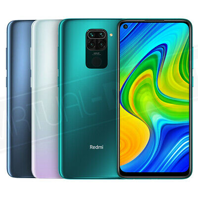 "Xiaomi Redmi Note 9 (64 or 128GB) GSM 6.53"" FHD+ IPS Display 48MP Quad Camera"