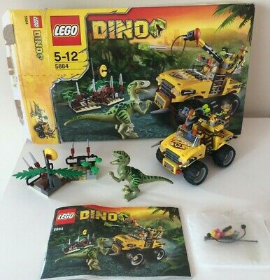 LEGO Dinosaurs Raptor Chase (5884) Boxed and complete. age 5-12