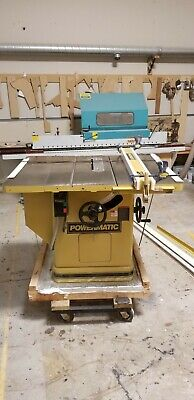 """Powermatic Table Saw 72-TA SAW 14"""" Blade 208/230 Volts 3 Phase"""