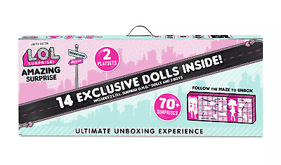 LOL Surprise Amazing Surprise with 14 Dolls and 70 + Surprises