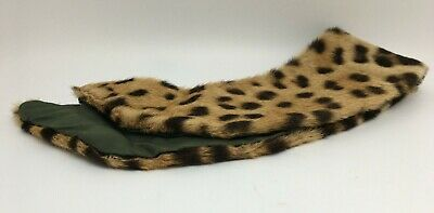 """Antique Vintage Spotted Fur Collar 18"""" Long Buy It Now"""