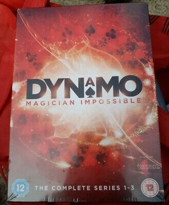 Dynamo - Magician Impossible: Series 1-3 DVD (2013) Dynamo cert 12 Amazing Value