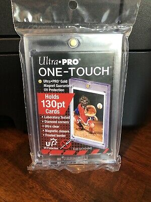 5 Ultra Pro One-Touch Thick Card 130pt Point Magnetic Card Holder - Lot of 5