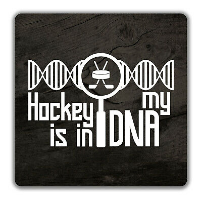 Hockey is in my DNA 2 Pack Coasters - 9cm x 9cm