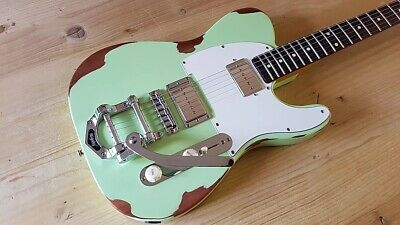 Light Relic Telecaster Custom with Bigsby.