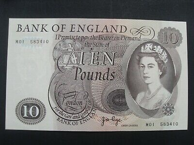 """Page  £10  First  Run  *Replacement*  Note  *M01*  (B327)  """"Unc"""""""