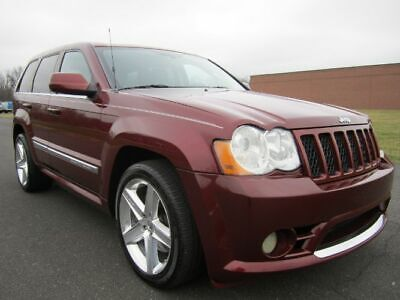 2008 Jeep Grand Cherokee SRT-8 2008 JEEP GRAND CHEROKEE SRT-8 SRT SRT8 NAV BUC REAR DVD HEATEDSEATS 1 OWNER WK1