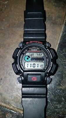 Casio G-Shock DW9052-1V Wrist Watch for Men BLACK BAND EXCELLENT WATER RESISTANT