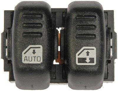 Power Window Switch Black Front Left Hand Side for Chevy Driver LH 10402838
