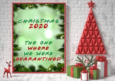 2020 Christmas The One Where We Were Quarantined Jumper Friends Show Spoof Top