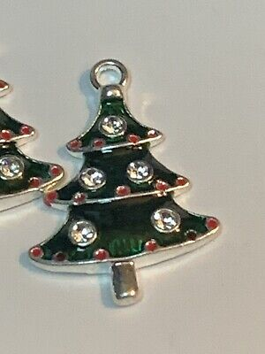 5 Penguin Charms Enamel Plated Bright and Fun E062