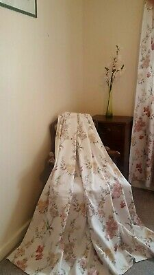 DORMA CREAM BROCADE curtains, lovely 66 x 72 inches - £48.00 | PicClick UK