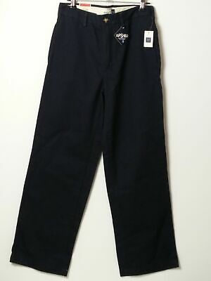 Bnwt Boys Gap Kids Navy Blue Easy Fit Regular Chino Jeans Age 12 Years