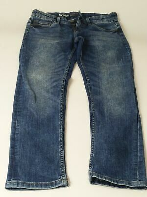 Boys Next Blue Mid Wash Wash Adjustable Waist Skinny Denim Jeans Age 10 Years