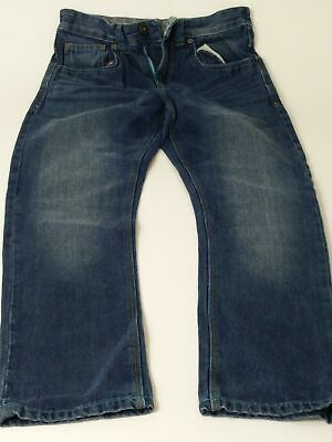 Boys Next Blue Mid Wash Adjustable Waist Straight Denim Jeans Age 10 Years
