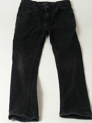 Boys River Island Black Adjustable Waist Skinny Denim Jeans Age 8 Years