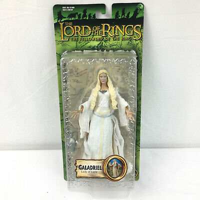 Marvel Toybiz Lord Rings Action GALADRIEL Lady of Light TWO TOWERS MIB Hobbit