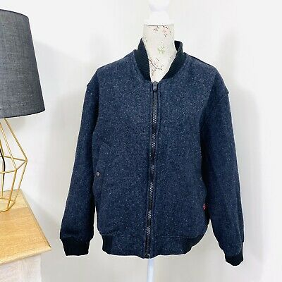 Australian Made 34oz Ounce Heavy Wool Bluey Jacket Norwellan
