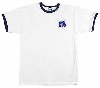 Lincoln City 1940s 1950s Retro Football T Shirt Embroidered Crest S-XXL