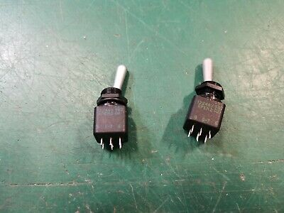 ON DPDT Military Part APEM2 12246X 987 Toggle Switches ON