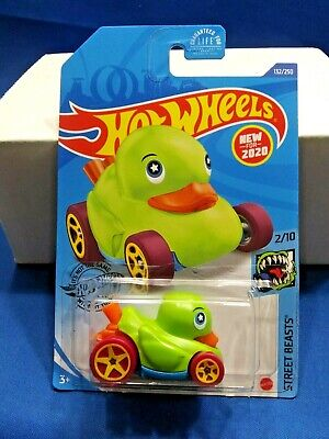 Details about  /Hot Wheels 2020 HW Street Beasts Yellow Duck N' Roll New For 2020!