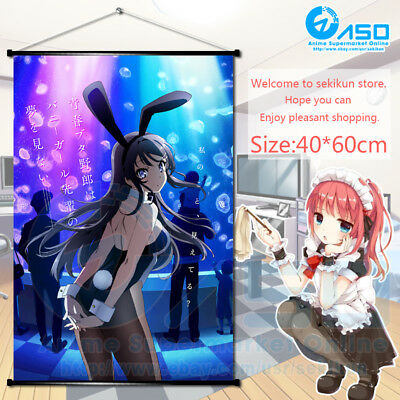 Hot Anime Poster aerith red gown lingery Home Decor Wall Scroll Painting 40*60CM