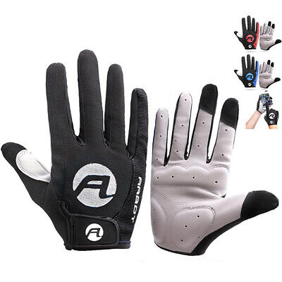 Cycling Gloves Full Finger Protection Mountain Bike BMX MTX MTB Shockproof Glove