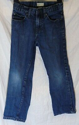 Boys Gap Classic Mid Blue Vintage Look Denim Slim Straight Fit Jeans Age 7 Years
