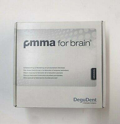 Degudent Original Pmma For Brain Disk & Ht Disk Cad/Cam Available - New & Sealed