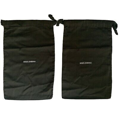 Authentic Pair Of Dolce & Gabbana Shoe Dustbags