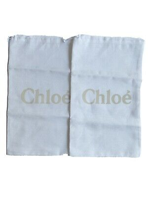 Authentic Pair Of Chloe Shoe Dustbags
