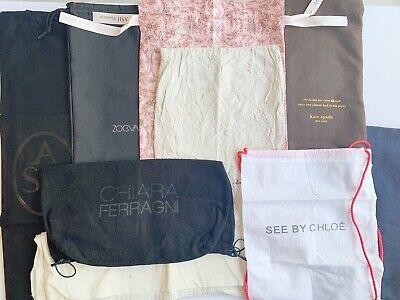Authentic Bundle Of Designer Shoe/Dustbags Inc See By Chloe, Kate Spade, Ash