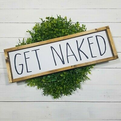 Funny Bathroom Wall Art Prints Farmhouse Decor Quotes Signs Pictures Gag Gift 7 94 Picclick Uk