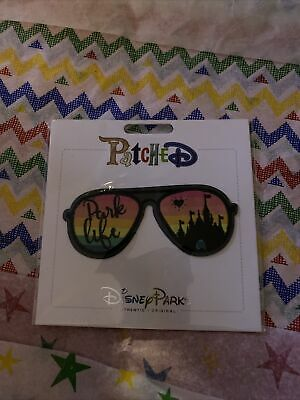 Disney Parks Rainbow Love Comes in Every Color Pride Patched Sew On Patch NEW