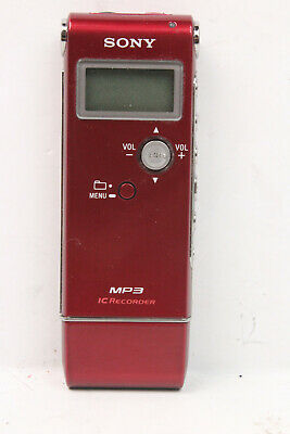 Sony Ic Digital Recorder Icd Ux70 Mp3 12 Hours Recording Time In St Mode 14 99 Picclick