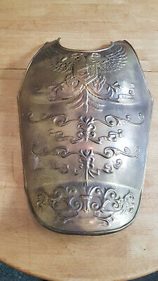 Vintage Brass Roman Medeival  Armour Breast Plate Reenactment Display