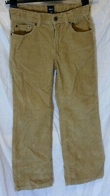 Boys Gap Light Brown Relaxed Fit Soft Feel Cord Jeans Trousers Age 7 Years