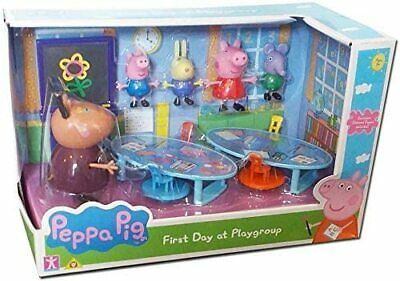 Peppa Pig Peppa/'s Day at the Zoo Set Zeo Lion Figures /& Accessories Toy Playset