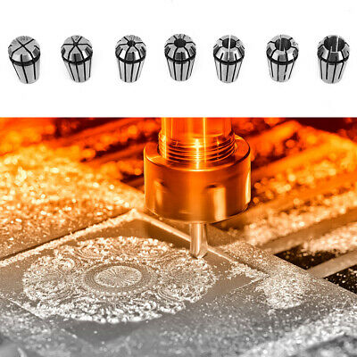 Engraving Machine Industrial Application for CNC Chuck Milling Machine Spring Chuck Explosion Resistance High Safety Factor High Cost Performance ER11 Chuck
